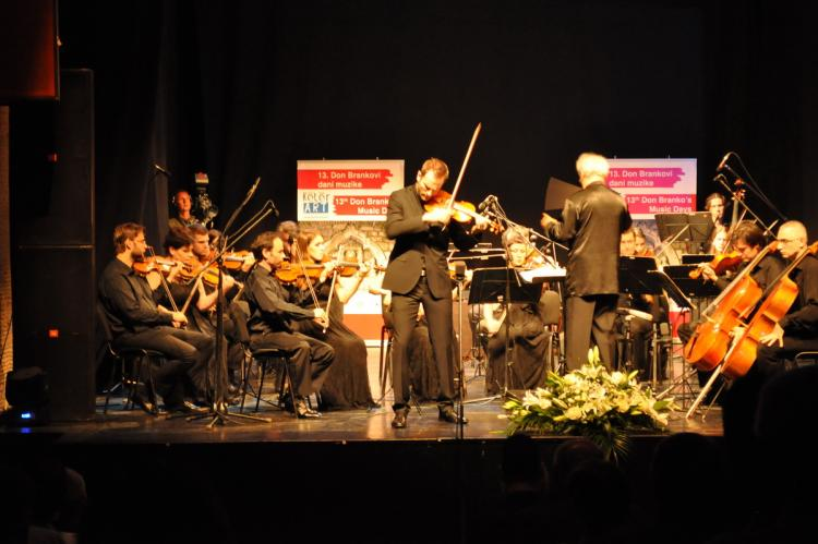 Violinista Stefan Milenković