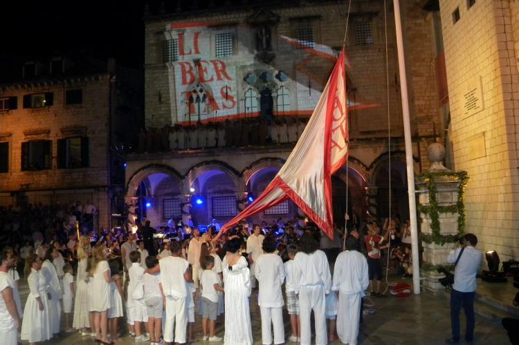 Svečano podizanje zastave Libertas