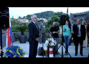 Proslava ulaska Hrvatske u EU - Podgorica
